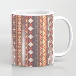 Aztec tribal pattern in stripes, vector illustration Coffee Mug