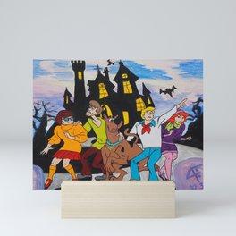 Mystery Inc. by 4:F Mini Art Print