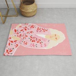 Pink Lady Rug