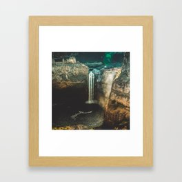 Washington Heights - nature photography Framed Art Print