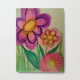 All The Pretty Flowers Metal Print