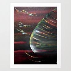 Cosmic beauty Art Print