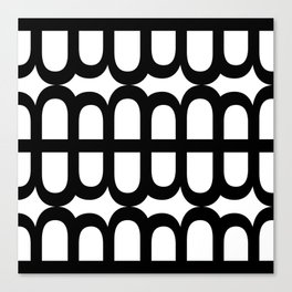 B Pattern Canvas Print