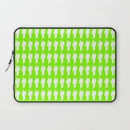 Billie Neon Green Laptop Sleeve