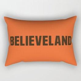Believeland Rectangular Pillow