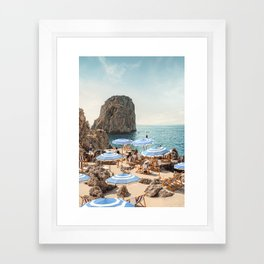 La Fontelina Framed Art Print