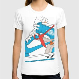 Jordan 1  Of White Poster T-shirt