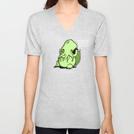 Prank Call of Cthulhu Unisex V-Neck