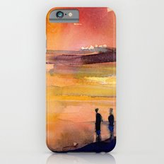 Sunset - Water Reflection and people iPhone 6s Slim Case