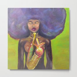 The Jazzsinger Metal Print