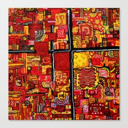 Ketchup and Mustard Canvas Print