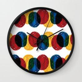 cellophane Wall Clock