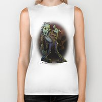 zombie Biker Tanks featuring ZOMBIE! by Billy Allison
