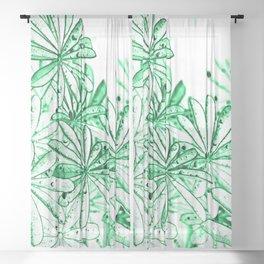 Raindrops X Sheer Curtain