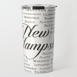 New Hampshire Travel Mug