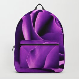 Purple Passion Rose Backpack