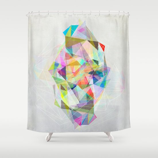 Graphic 119 Shower Curtain