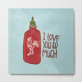 TRUE LOVE Metal Print