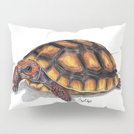 Red Footed Tortoise Pillow Sham