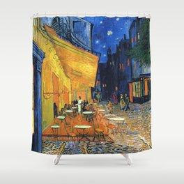 Cafe Terrace, (1888) Shower Curtain