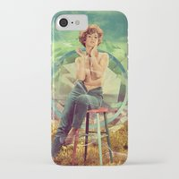 cigarette iPhone & iPod Cases featuring Cigarette Break by Ryan Haran
