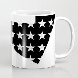 Paper Thin Stencil | White by Kimberly J Graphics Coffee Mug