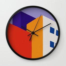 Urban Block Wall Clock