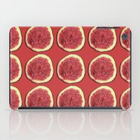 fig iPad Cases featuring fig by Panic Junkie