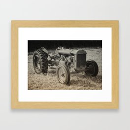 Early Fergie Framed Art Print