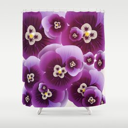 Violette Shower Curtain