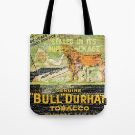 Bull Durham Tote Bag