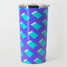Blue Notepad Travel Mug