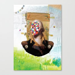 Shock Canvas Print