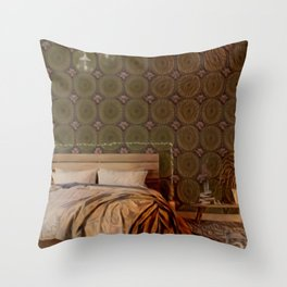 Sequential Baseline Bedroom Throw Pillow
