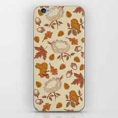 Fly Away Fall iPhone & iPod Skin