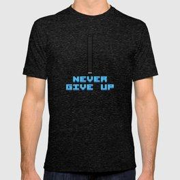 Never Give Up - Mega Man T-shirt
