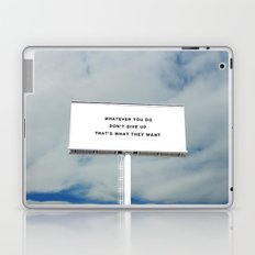 WHATEVER YOU DO Laptop & iPad Skin