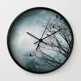 Star Storm Wall Clock