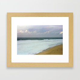 Swells Up Framed Art Print