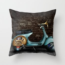 Traveling Melody Throw Pillow