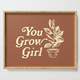 You Grow Girl Vintage Serving Tray