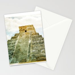 Chichen Itza pyramid Stationery Cards