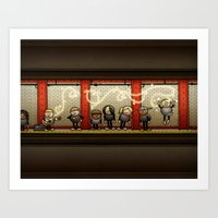Missed Connection Art Print