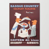 Basque Country culinary paradise Canvas Print