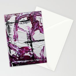 Mini Series [Musical Waves - Rouge Violet] Stationery Cards