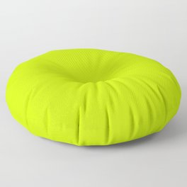 Bitter Lime Green Floor Pillow