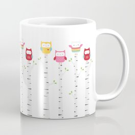 Treetop Owls Coffee Mug