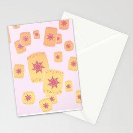 Lost Princess Lanterns Stationery Cards