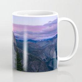 Yosemite National Park at Sunset Coffee Mug