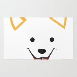 Corgi Face Funny Dog Halloween Costume - Corgi Gifts Rug